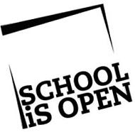 Logo des Projektes school is open